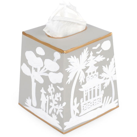 Regency Topiary Wastebasket