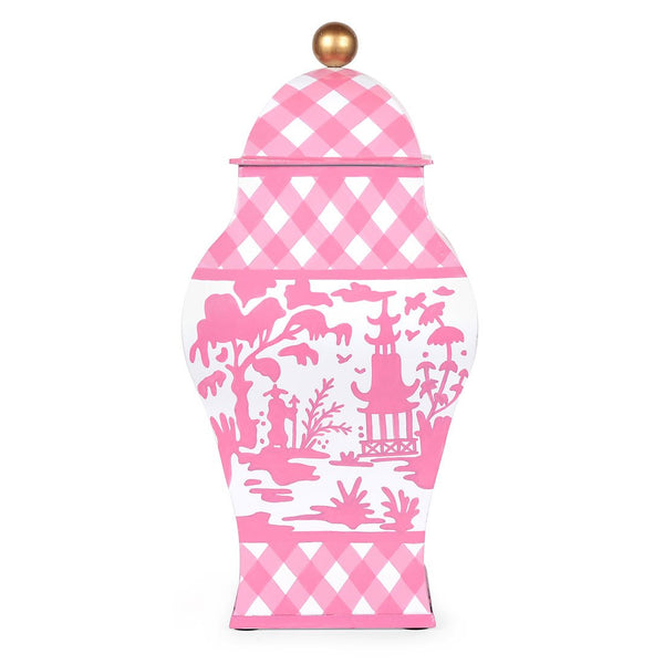 Large Ginger Jar Pink