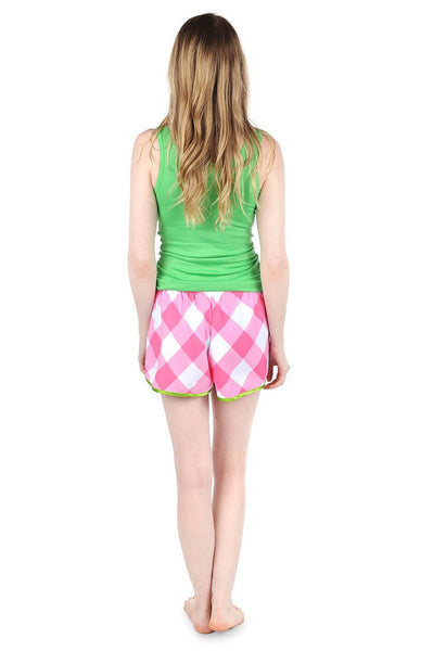 Buffalo Pink Sateen Women's Boxers
