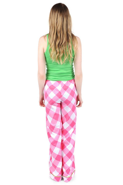 Buffalo Pink Sateen Lounge Pant