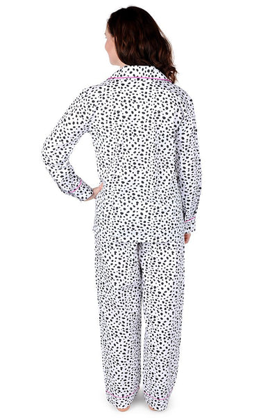 Spot On Cotton Poplin Pajama Set