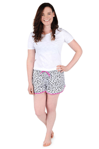 Spot On Cotton Poplin Women's Boxers