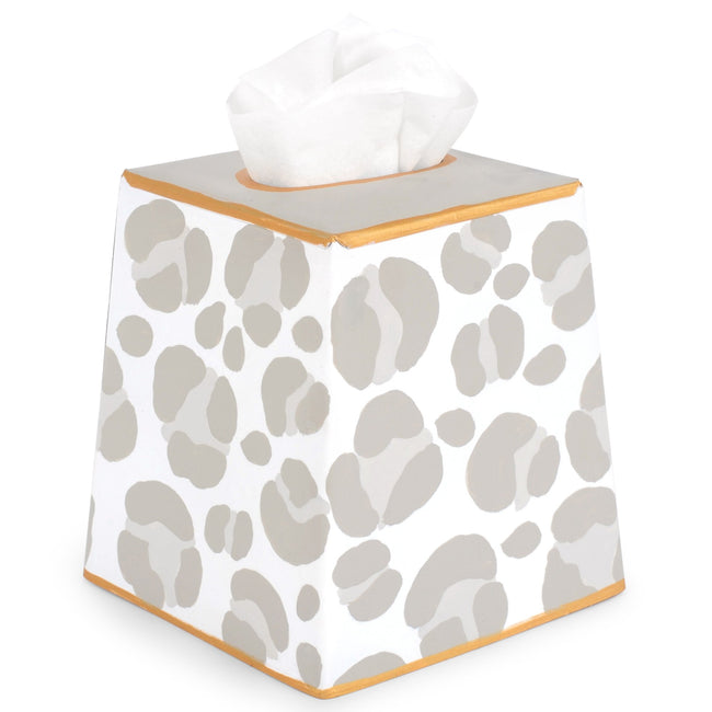 Cheetah Tissue Box Cover