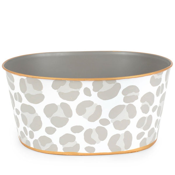 Cheetah Taupe Tub