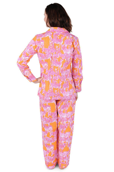 Serengeti Cotton Poplin Pajama Set