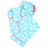 Elephant Parade Cotton Poplin Pajama Set