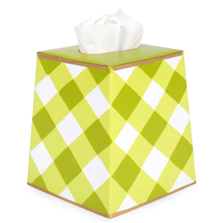 Anchors Blue Lime Tissue Box Cover
