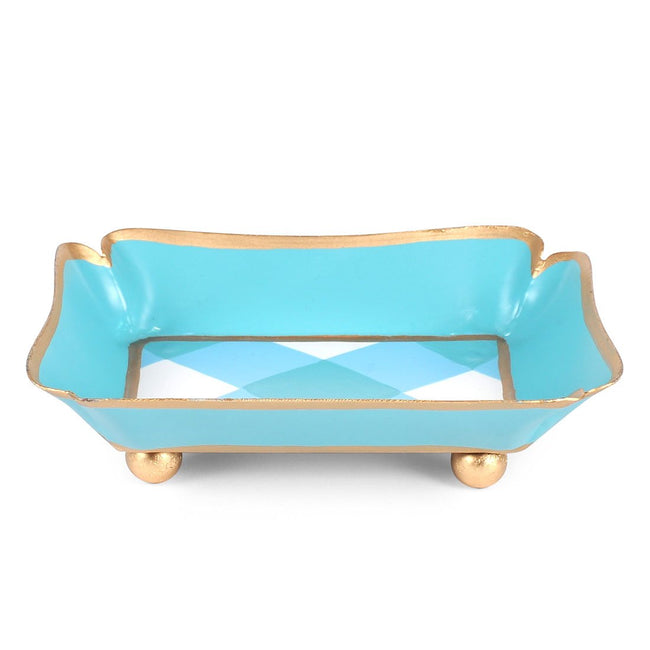 Gingham Trinket Tray