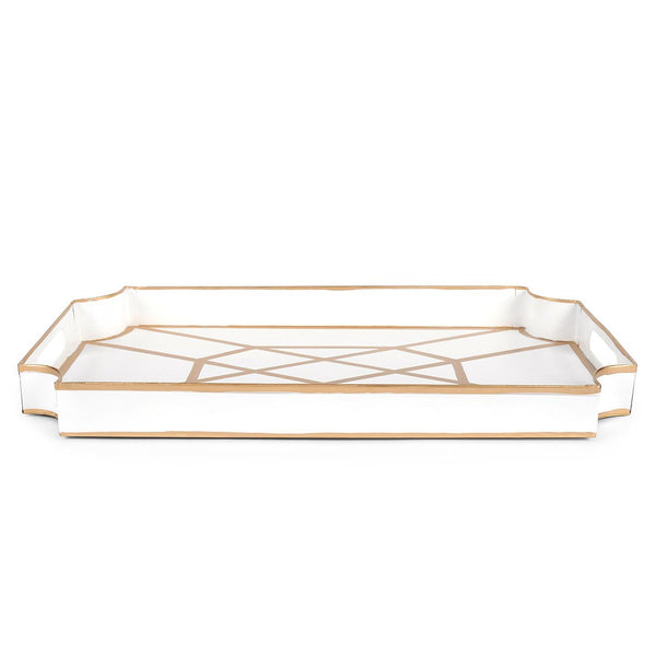 Don't Fret White Jaye Tray