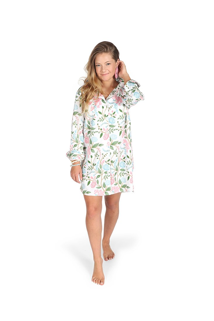 Hydrangea Meadow Sleep Shirt