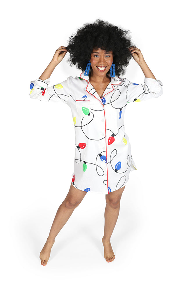 Tis the Season Sateen Sleep Shirt