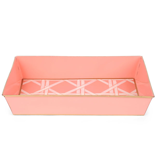 Cane Peach Organizing Tray
