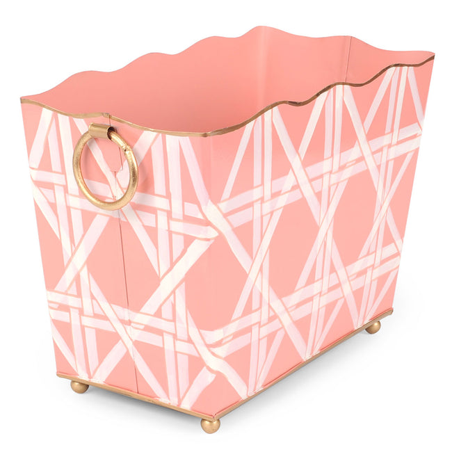 Cane Pink Magazine Holder