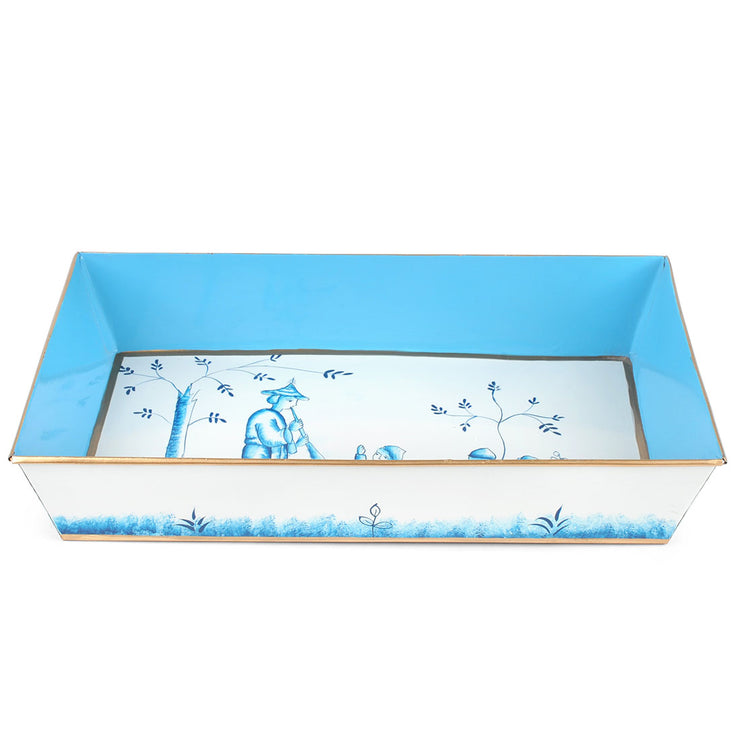Chinoiserie Blue Organizing Tray