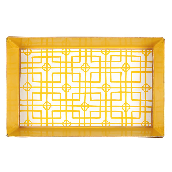 Isabelle Yellow Organizing Tray