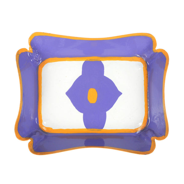 Felix Purple Trinket Tray