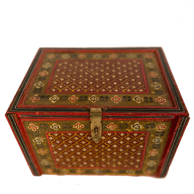 Antique 7 Drawer Jewelry Box