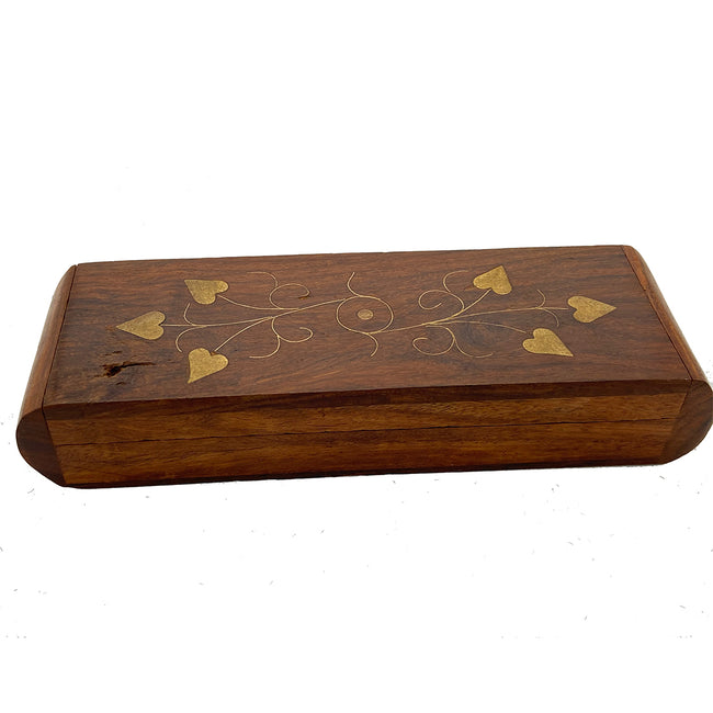 Antique Wooden Inlay Box