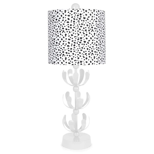 Spot On White J'adore Lamp