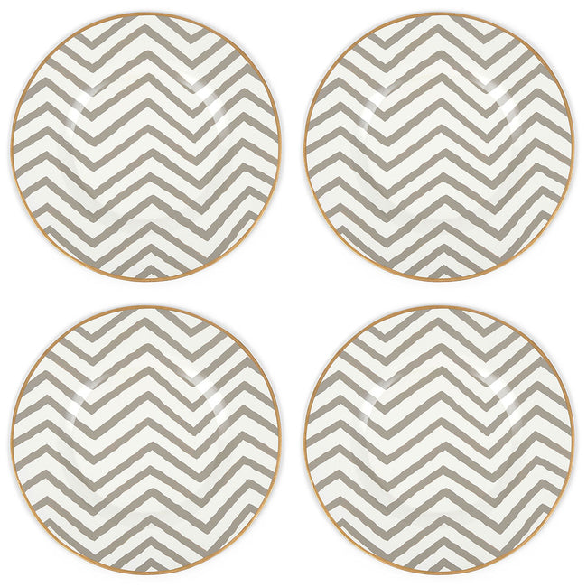 "Kenya Taupe14"" Charger Plate 4-Pack"