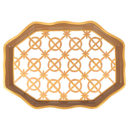 Squares Orange Organizing Tray