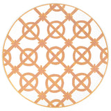 Bamboo Trellis Round Placemat 15