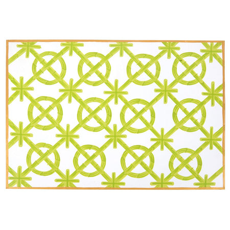 Interlocking Key Pink Napkins (4pk)