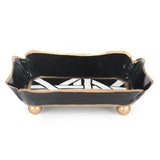 Cane Black Trinket Tray