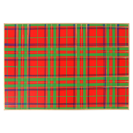 Scottish Plaid Magazine Holder