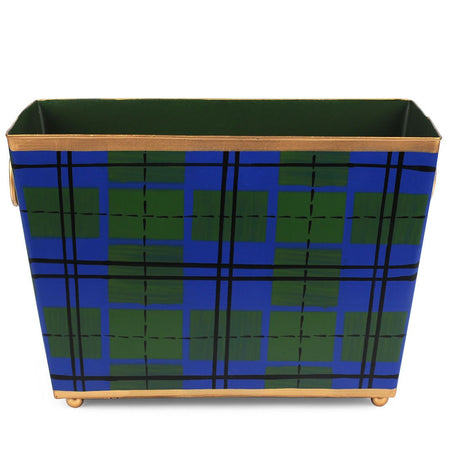 Scottish Plaid Social Tray