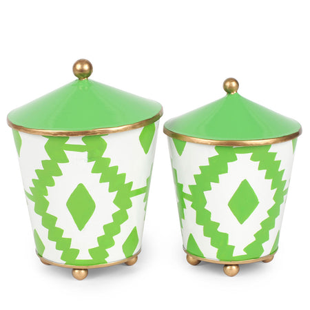 "Maize Mint Set of Two 4"" Shades"