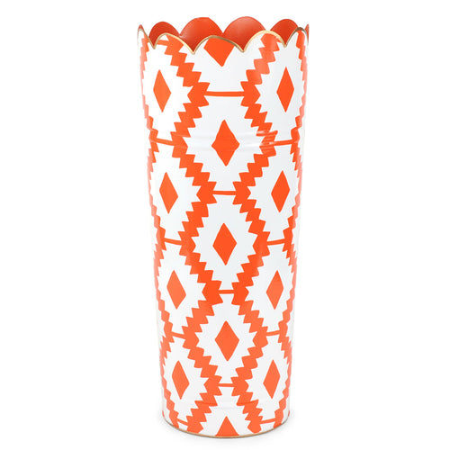 Aztec Orange Umbrella Stand