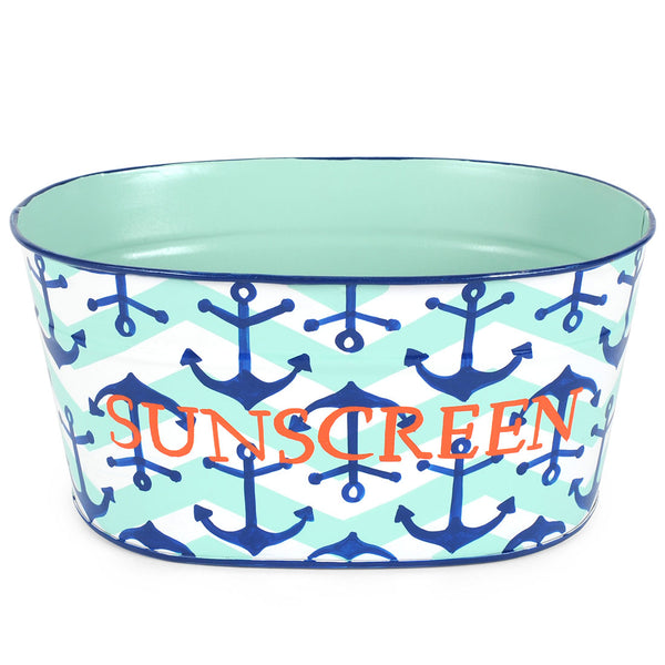 "Choppy Seas ""Sunscreen"" Tub"