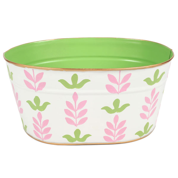 "Foliage Pink ""Mail"" Tub"