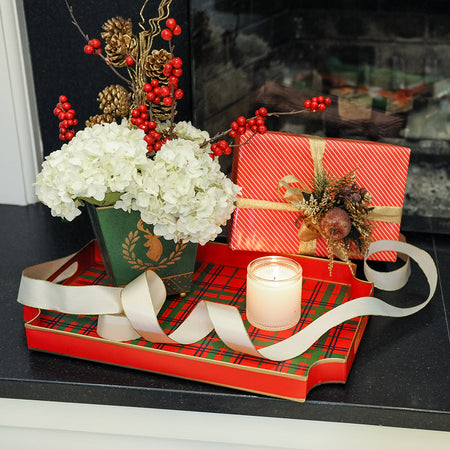 Holiday Dots Trinket Tray