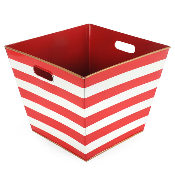 Rugby Red Storage Bin