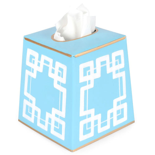 Interlocking Key Tissue Box Cover