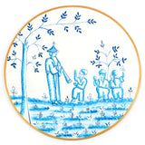 Chinoiserie Blue 14