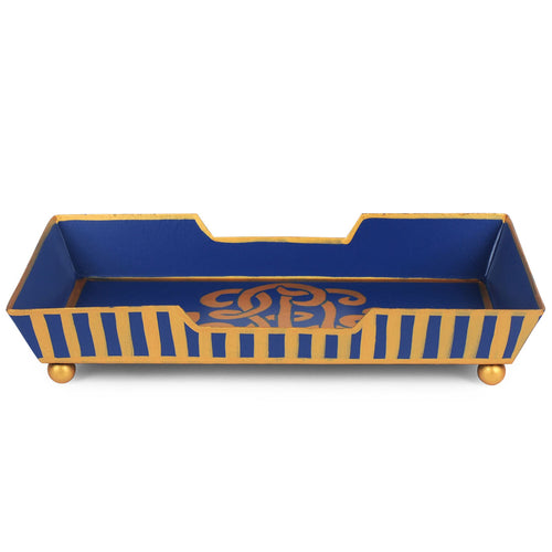 Heritage Crest Guest Towel Tray