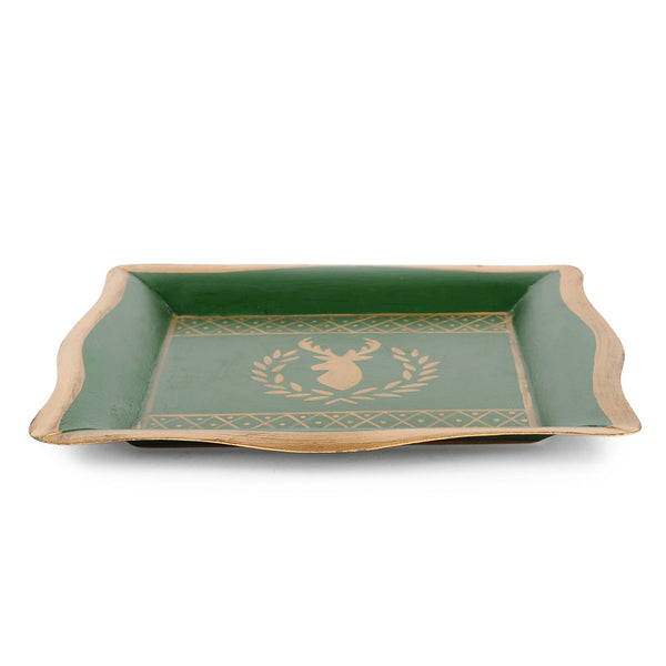 Deer Laurel Social Tray