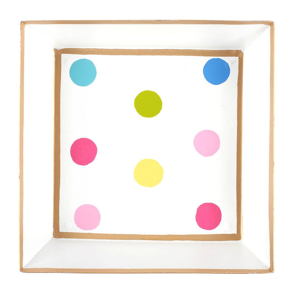 Multi Dot Cocktail Napkin Tray