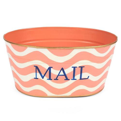 "Breakers Pink ""MAIL"" Tub"
