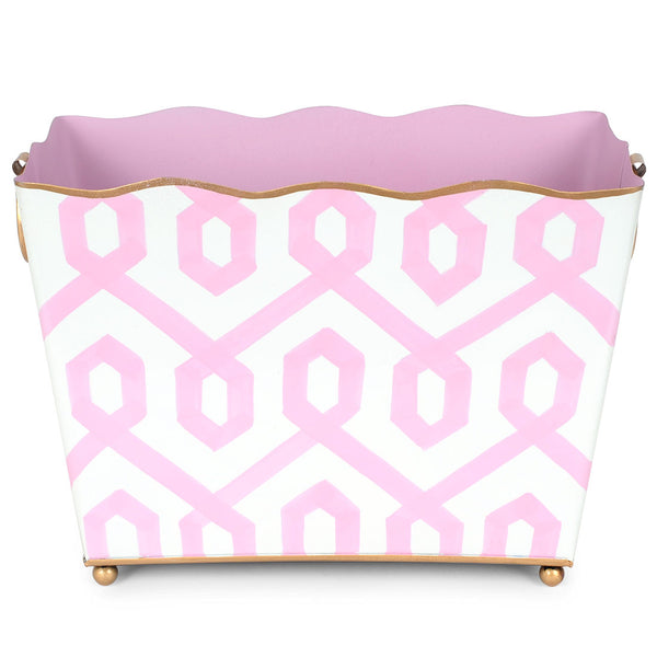 Madison Blush Rectangle Magazine Holder