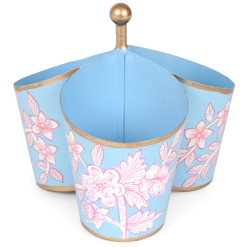 Floral Toile Caddy