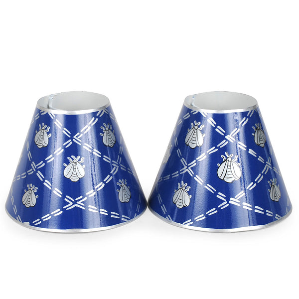 "French Bee Navy Set of Two 4"" Shades"