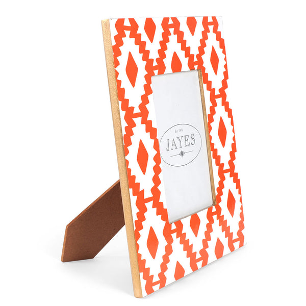 "Aztec Orange 5""x7"" Picture Frame"