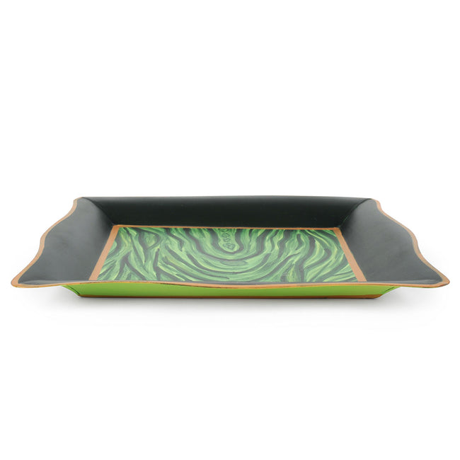 "Malachite Green 7"" Tray"