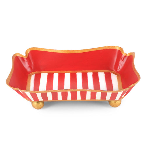 Candy Cane Stripe Trinket Tray