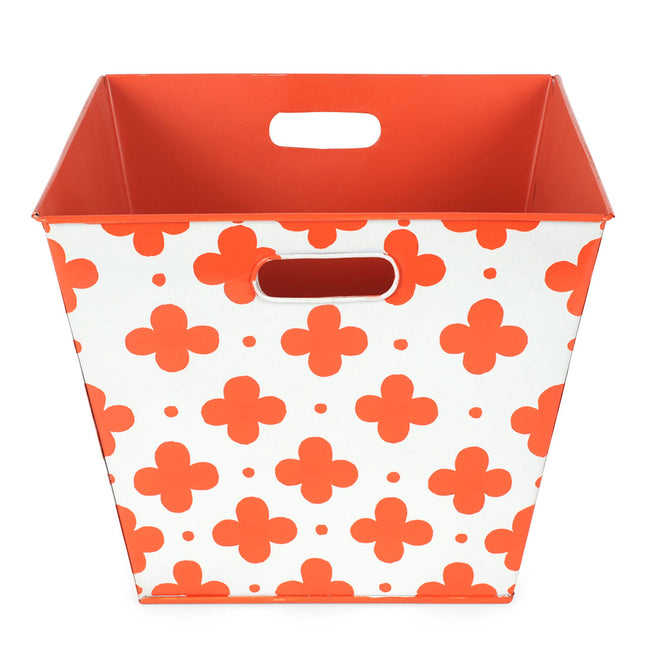 Coptic Orange Storage Bin