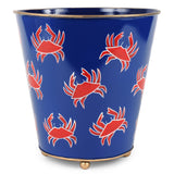 Chesapeake Round Wastebasket with Feet